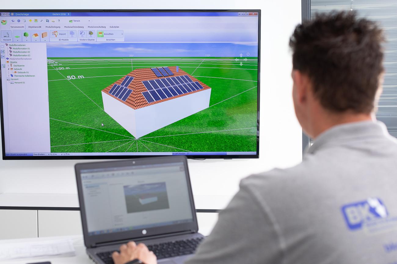 Photovoltaik Fachbetrieb für Detmold